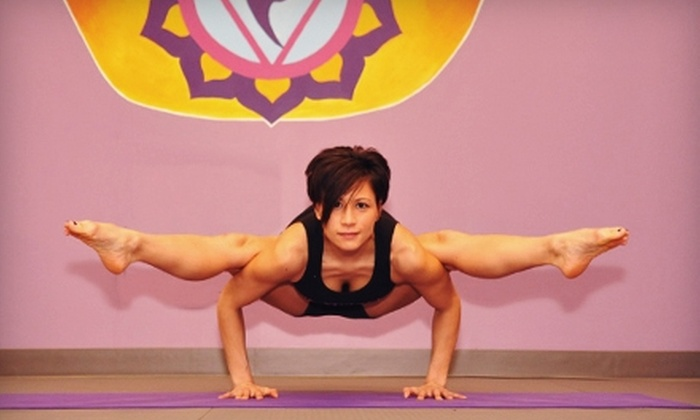YogaFlex - Commack: $45 for One Month of Unlimited Hot-Yoga Classes at YogaFlex in Commack ($175 Value)