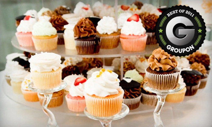 7 Little Cupcakes - Perrysburg: Six Gourmet Cupcakes or Cupcake Party Pack at 7 Little Cupcakes in Perrysburg (Up to 55% Off)