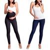 Maternity Denim-Look Leggings