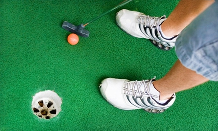 Arizona Action Park - Sappington: $8 for Two Rounds of Mini Golf and Five Batting-Cage Tokens at Arizona Action Park (Up to $17.50 Value)
