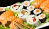 5% Cash Back at J Sushi
