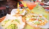 Sunset Restaurant Management Group (Cabo Cantina) - West Hollywood: $20 for Bar Fare for Two with Patrón Margaritas and Appetizers at Fiesta Cantina in West Hollywood (Up to $42 Value)
