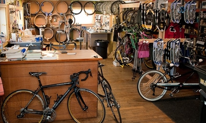 Local Motion Outfitters - Milwaukee: $20 for Full-Day Bike or Snowshoe Rental at Local Motion Outfitters ($40 Value) in Cedarburg