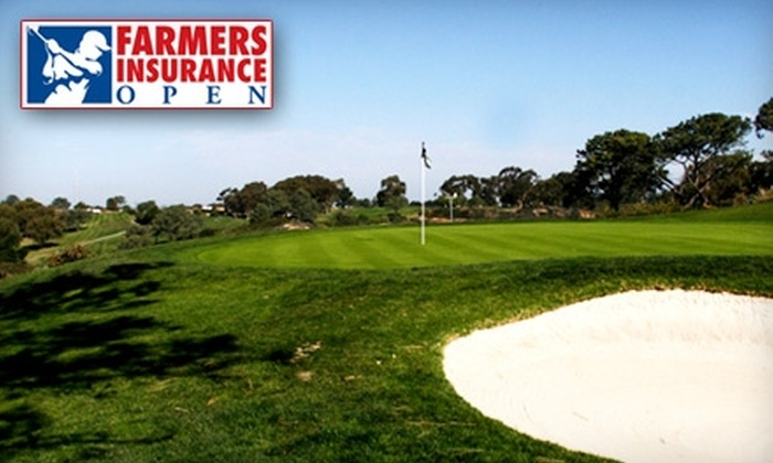 Farmers Insurance Open - Phoenix: $35 for Two One-Day Tickets Plus Parking to the Farmers Insurance Open, a PGA Tournament at Torrey Pines Golf Course (Up to $84 Value)