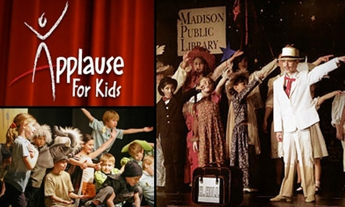 Applause For Kids - East Chastain Park: $150 for a Weeklong Summer Camp at Applause For Kids ($375 Value)