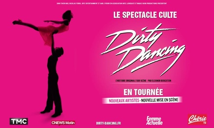 1 place en catégorie 2 ou 1 ou en carré or pour Dirty Dancing le 20 mars 2018 à 20h au Vendespace dès 25 €