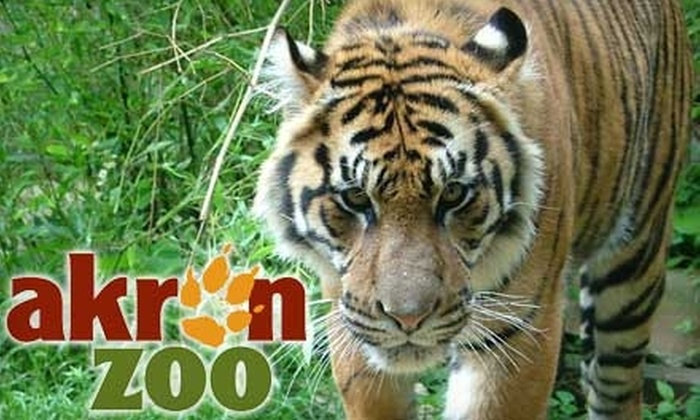 Akron Zoo - West Akron: $6 for Two Winter Admissions to the Akron Zoo ($12 Value)