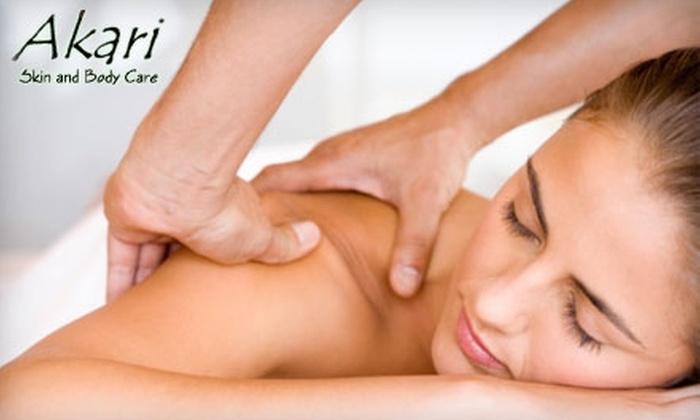 Akari Skin & Body Care - Visalia: $75 for Spa Package at Akari Skin & Body Care ($155 Value)