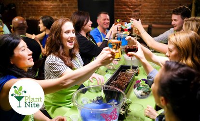 image for Terrarium and Garden-Making Social Event from Plant Nite in Local Bars