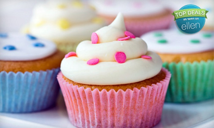 The Cake Bar - East Woonsocket: $25 for One Dozen Standard Cupcakes ($32.89 Value) or $50 Worth of Custom Cakes at The Cake Bar in Franklin