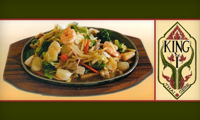 King & I Thai - West Sahara: $10 for $20 Worth of Thai and Chinese Fare at King & I Thai