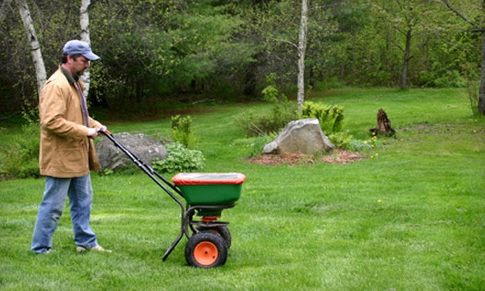 GrassPro Lawn & Landscape - Mason: Lawn Aeration and Seeding of Up to One Acre from GrassPro Lawn & Landscape