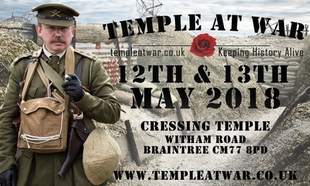 Temple at War Military and Vintage Show