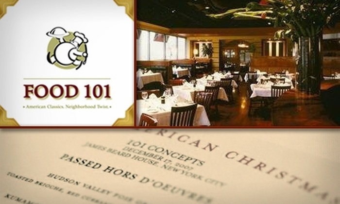 Food 101 - Sandy Springs: $20 for $40 Worth of Inventive Fare at Food 101