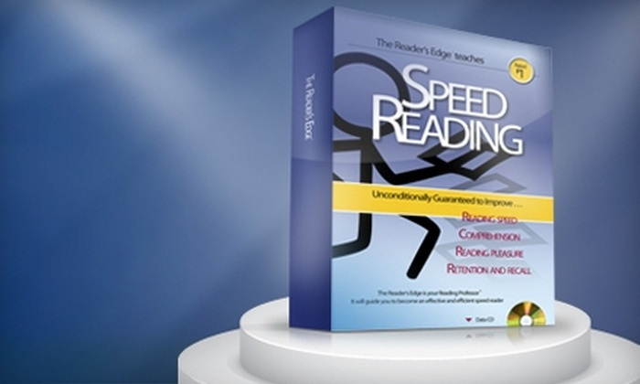 The Literacy Company: $74 for Professional Speed-Reading Program ($149.95 Value) from The Literacy Company
