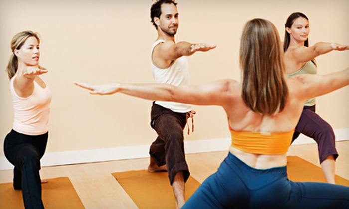 The Funky Buddha Yoga Hothouse - Eastown: $19 for Three Drop-In Hot-Yoga Classes at The Funky Buddha Yoga Hothouse (Up to $48 Value)