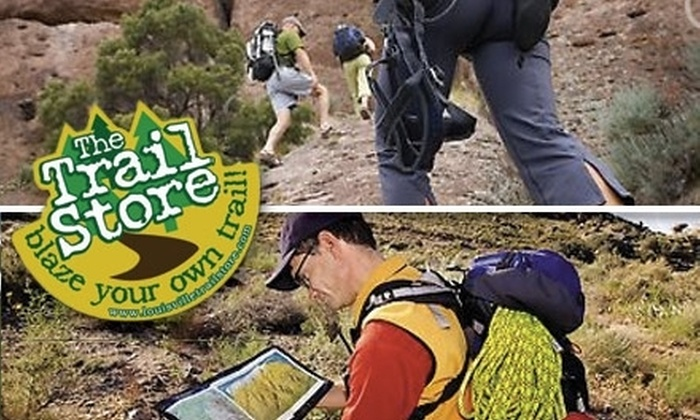 The Trail Store - Graymoor-Devondale: $20 for $40 Worth of Outdoor Supplies at The Trail Store