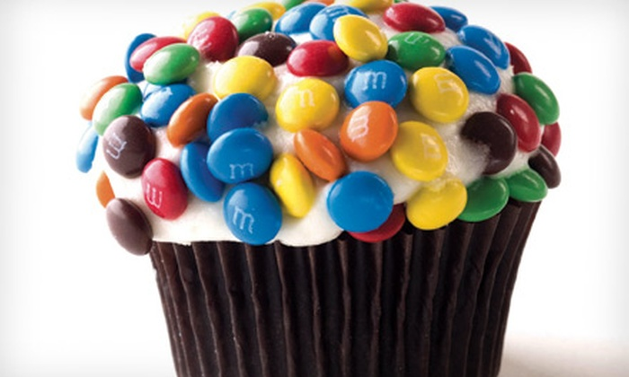 Just Cupcakes - Multiple Locations: Two-Dozen Mini Cupcakes or $6 for $12 Worth of Gourmet Treats at Just Cupcakes