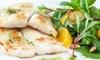 Menu gastronomique en 6 services pour 2 ou 4