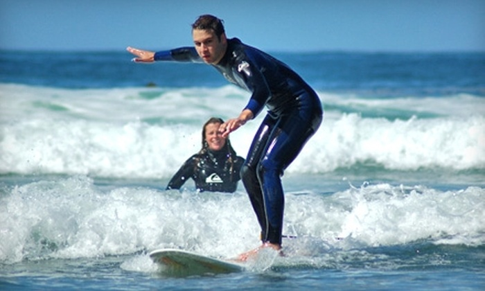 Oregon Surf Adventures - Seaside: $114 for Three-Hour Surf Lesson for Two at Oregon Surf Adventures in Seaside ($228 Value)