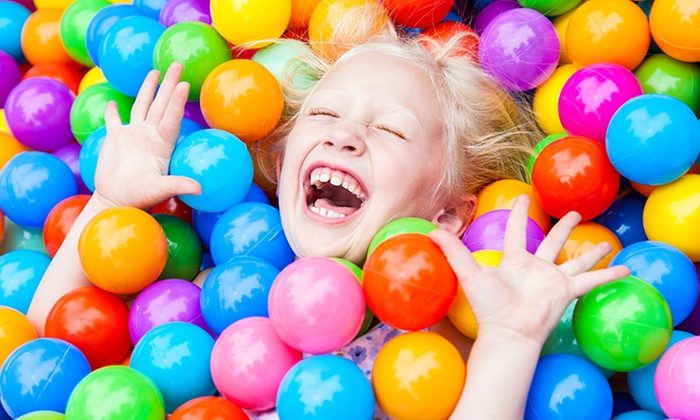 Carnival Kingdom - Revesby: All-Day Indoor Play Centre Entry - One ($8) or Two Children ($15) at Carnival Kingdom (Up to $33 Value)