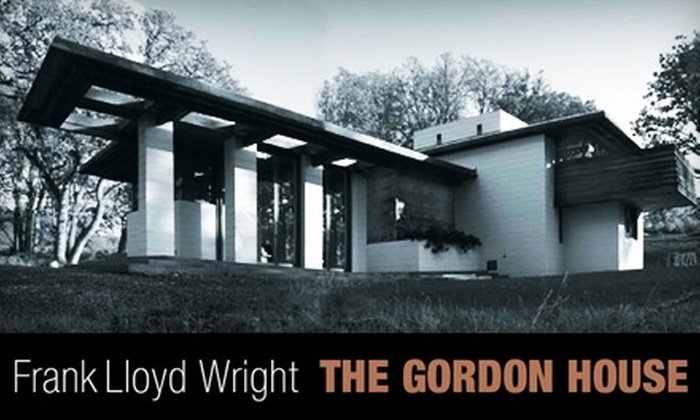 Frank Lloyd Wright's Gordon House - Silverton: $10 for Two Adult Guided-Tour Admissions to Frank Lloyd Wright's Gordon House (Up to $20 Value)