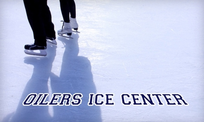 Oilers Ice Center - Union Gardens: $9 for an Ice Skating Pass for Four at Oilers Ice Center ($26 Value)