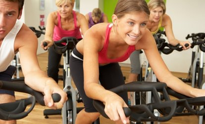 image for 5- or 10-Class Pass for <strong>Spinning</strong> or Boot Camp at Timberline Fitness Studio at the Zone (Up to 62% Off)