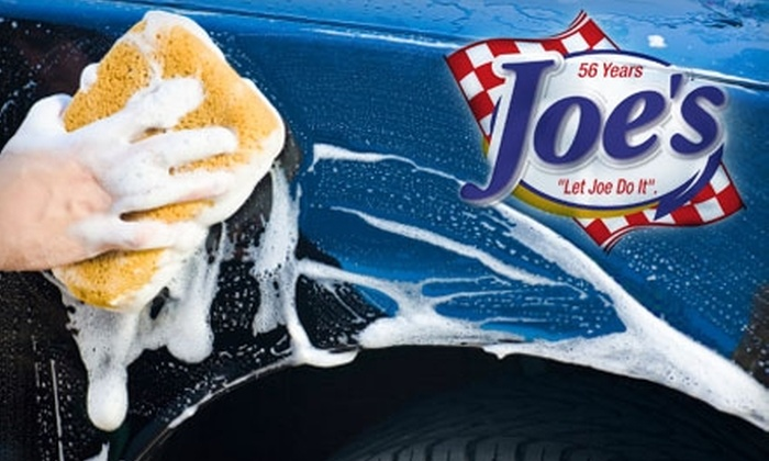 Joe's Seat Cover & Car Wash - Multiple Locations: $7 for a Full-Service Car Wash at Joe's Seat Cover & Car Wash ($13.95 Value)