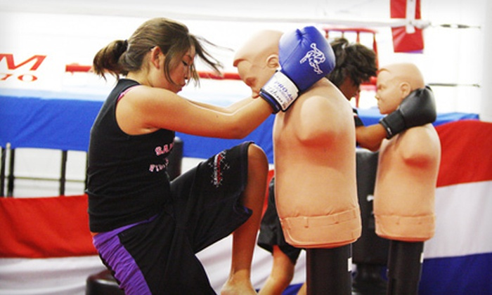Pro-Am Mixed Martial Arts Training Center - Murrieta: Kickboxing Classes or Membership at Pro-Am Family Mixed Martial Arts Training Center in Murrieta (Up to 72% Off)