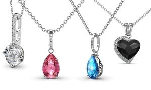 Pendentifs ornés de cristaux Swarovski®