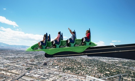 Thrill Rides or SkyJump at Stratosphere Casino, Hotel & Tower (Up to 44% off). Three Options Available.