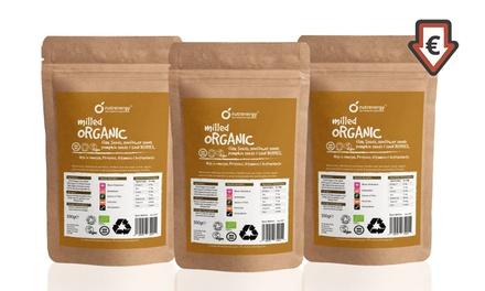 NUTRENERGY: 3 ou 4 kg de mélange de Graines Bio de lin, tournesol, citrouille et baies de Goji