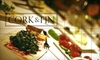 Cork & Fin - Downtown Eastside: $17 for $35 Worth of Seafood and Drinks at Cork & Fin