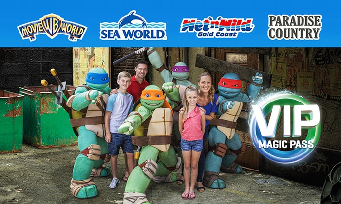 Yes, it's half priced tickets to the sensational Warner Bros Movie World on the Gold Coast Adults are a mere $40 and the kids get entry in for just $25 (kids are ) Buy as many as you like too! All at this one great price! Be quick, voucher is valid for entryuntil the.