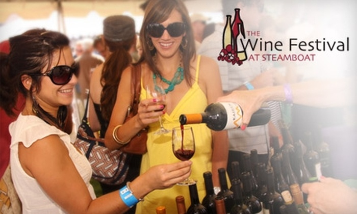 Merrell's Stroll of Steamboat Springs and Steamboat Wine Festival - Steamboat Springs: $35 for One Ticket to Merrell's Stroll of Steamboat Springs and Admission to the Steamboat Wine Festival's Grand Tasting ($65 Value)