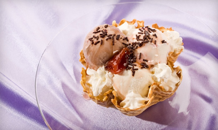 Oly's Ice Cream and Coffee - Gateway: $5 for $10 Worth of Ice Cream, Gelato, and Coffee at Oly's Ice Cream and Coffee