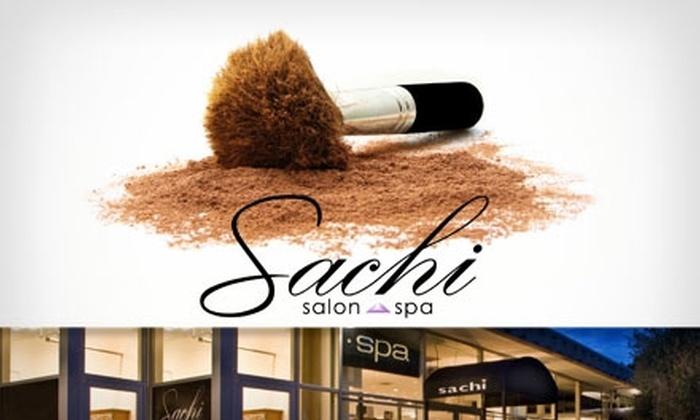 Sachi Salon & Spa - Phoenix: $30 for a Makeup Application and Lesson at Sachi Salon and Spa ($130 Value)