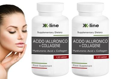 Hasta 720 cápsulas de ácido hialurónico y colágeno