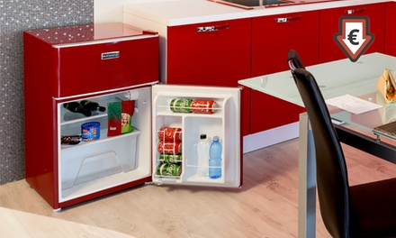 oursson k hlschrank mit 2 t ren groupon goods. Black Bedroom Furniture Sets. Home Design Ideas