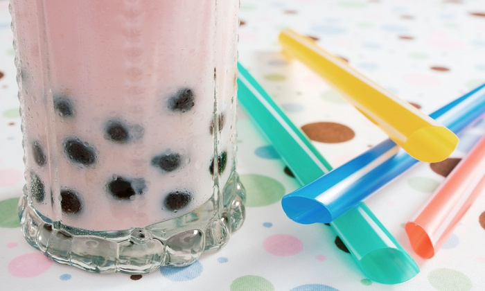 Boba City Cafe - Spring Valley: $12 for Three Groupons, Each Good for $8 Worth of Boba Tea, Smoothies, and Ice Cream at Boba City Cafe ($24 Total Value)