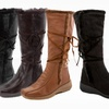 Rasolli Alice-9 Fur-Trim Boots