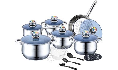 Batería de cocina de 18 piezas Royalty Line