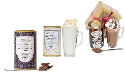 Set regalo de chocolate caliente negro, blanco o de leche desde 8,99 €