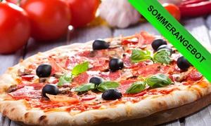 Pizza Paradies: Pizza oder Pasta All-you-can-eat für zwei oder vier Personen im Pizza Paradies (bis zu 58% sparen*)