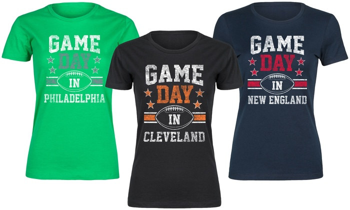 Women's Game-Day Tee. Plus Sizes Available.