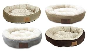 """AKC Casablanca 22"""" Round Pet Bed"""