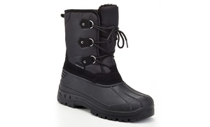 Snow Tec Men s Waterproof Snow Boots with Free Earmuffs (Size 13) 70669d893