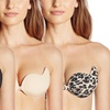 Pure Style Cleavage-Enhancing Adhesive Bras (2-Pack)