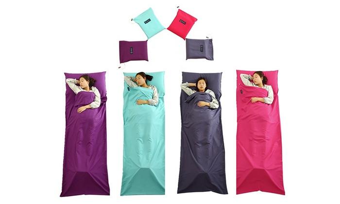 sac de couchage en coton groupon. Black Bedroom Furniture Sets. Home Design Ideas